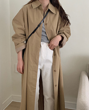 moment trench coat (2color)