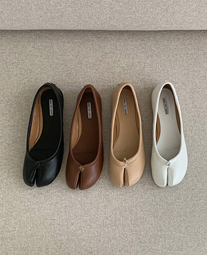 tabi flat shoes (4color)